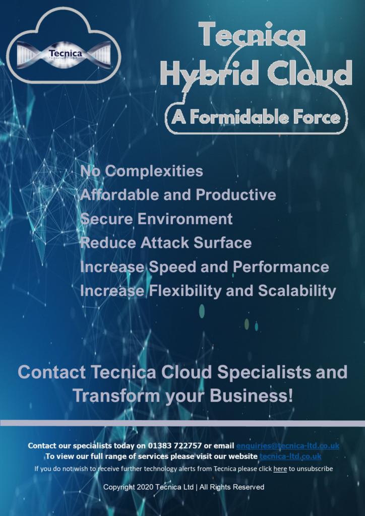 Hybrid Cloud - A Formidable Force